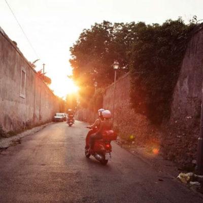 "Kelly DiNardo article ""A Vespa tour of Rome,"" The Washington Post"