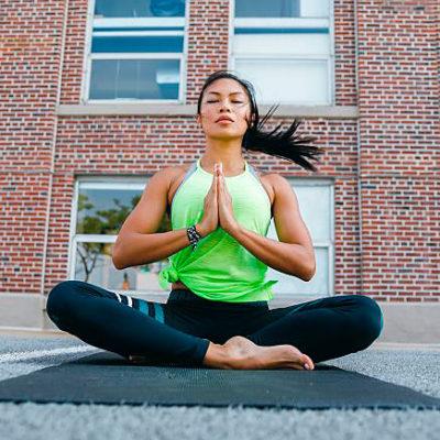 "Kelly DiNardo article ""5-post yoga fix: headache relief"" for myfitnesspal"