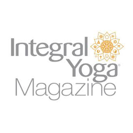 Kelly DiNardo press Integral Yoga magazine