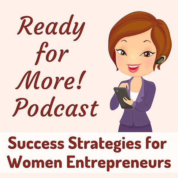 Kelly DiNardo press Ready for More Podcast